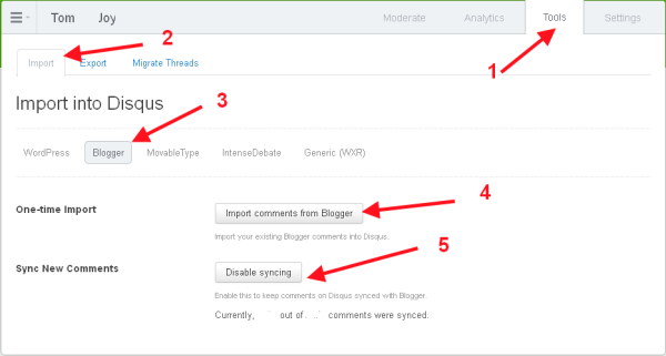 Comment ajouter Disqus commentaire à votre blog Blogger