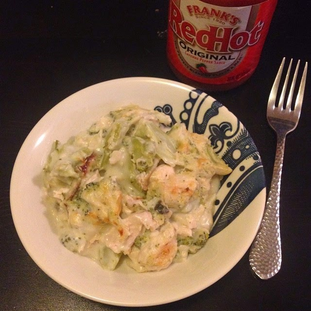 Lightened-Up Chicken and Broccoli Casserole