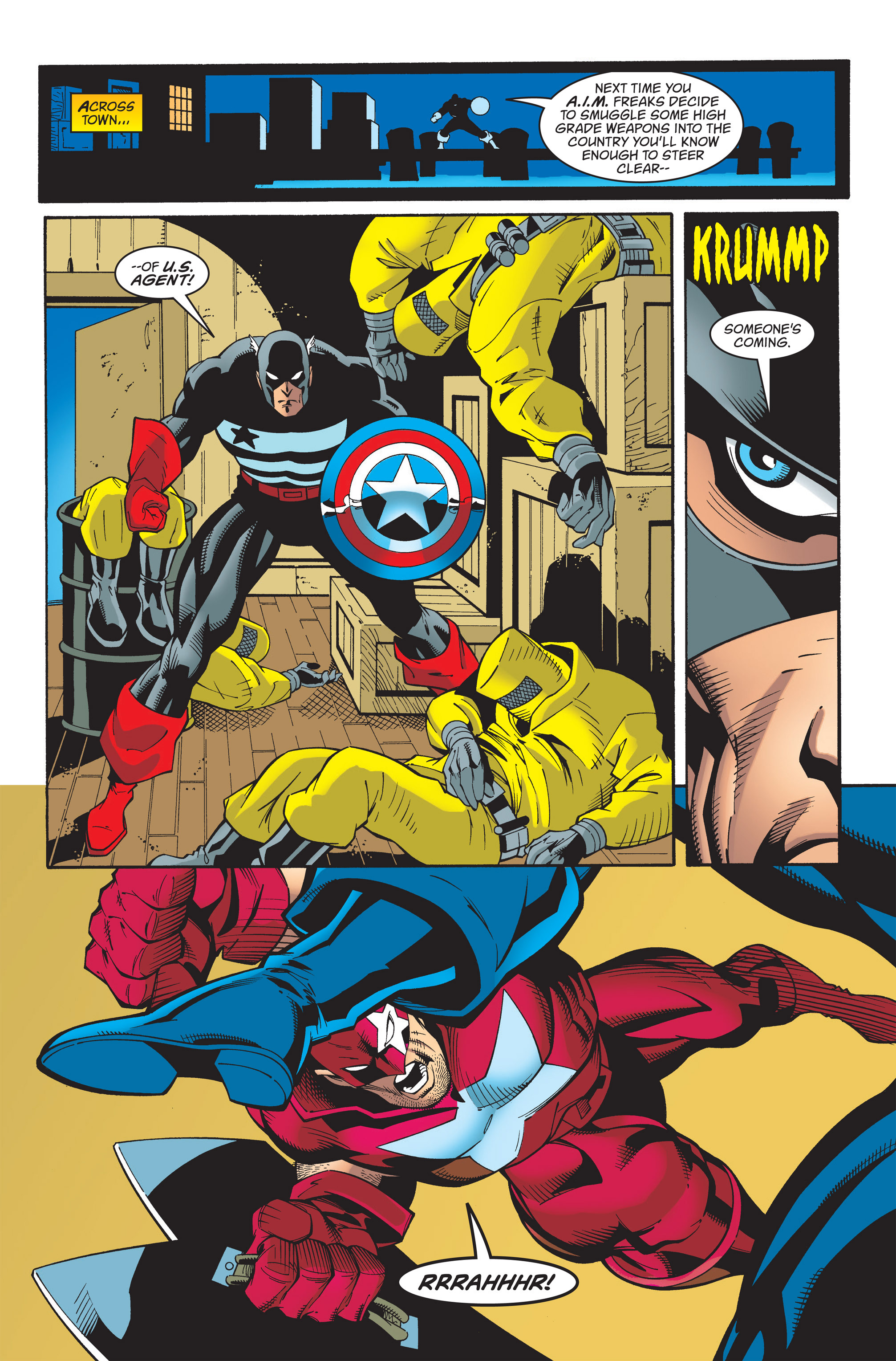 Captain America (1998) Issue #33 #39 - English 20