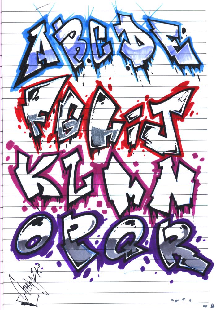 Believe in graffiti graffiti alphabets - Grafiti alpabet ...