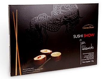 Cacau Show Sushi Show