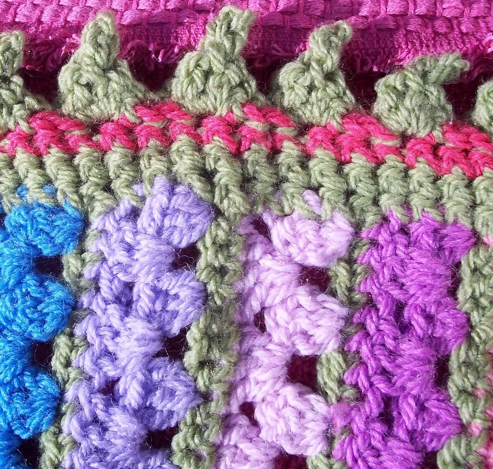 Lucy In the sky: Meadowsweet Crochet Cot Blanket ...