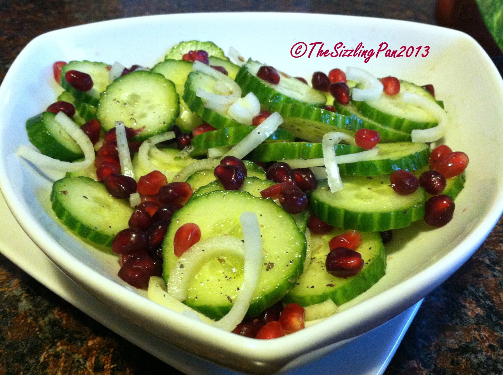 Cool And Crunchy Cucumber Salad With Red Onions Recipes — Dishmaps