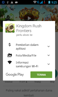 Detail Informasi Game di Google Play Store