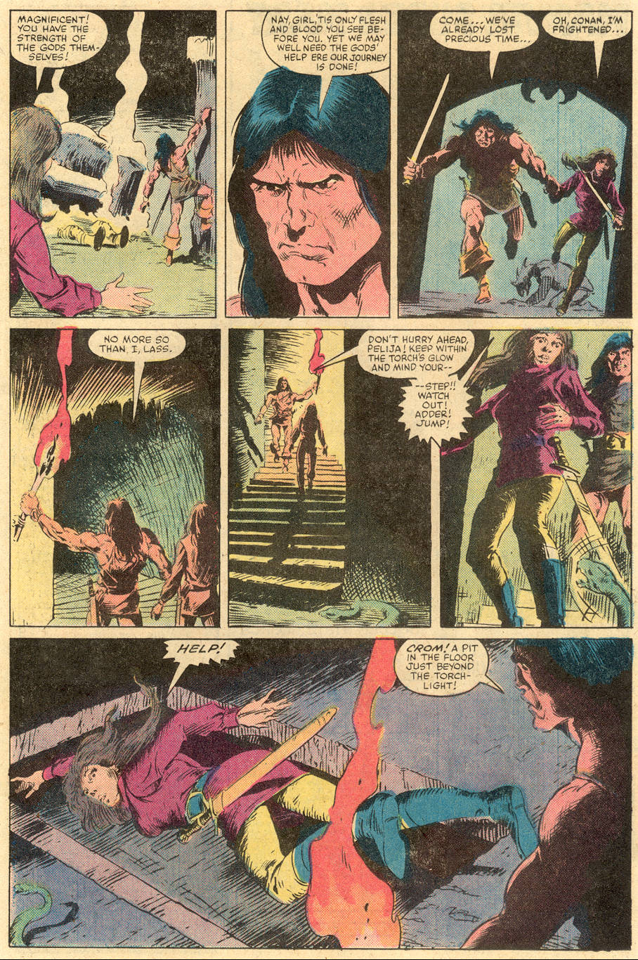 Conan the Barbarian (1970) Issue #138 #150 - English 16