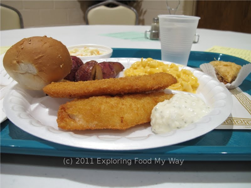 Exploring food my way satisfying the craving lenten for Fried fish dinner