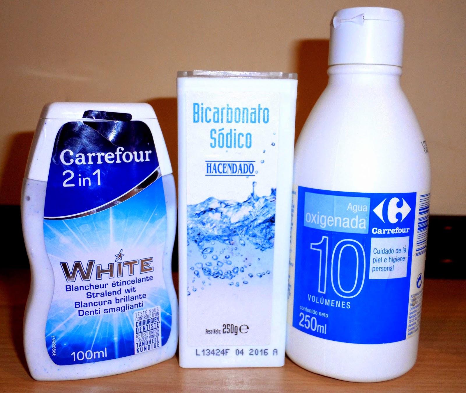 como blanquear dientes casero trucos bicarbonato agua oxigenada