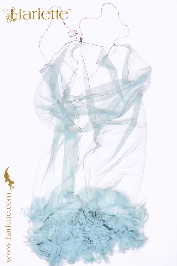 Crystal Palace by Harlette Couture with vintage beaded straps Launched Paris Lingerie Show Jan 2013