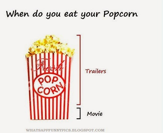 Funny Meme Eating Popcorn : When do you eat a popcorn while watchin movie whatsapp