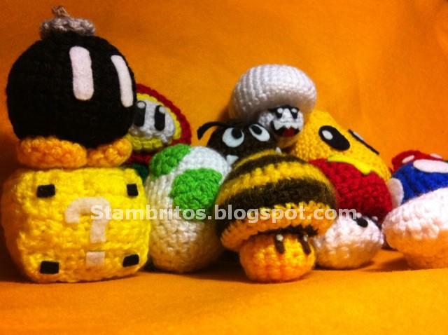 Amigurumi Hongo Mario Bros : Stambritos Inc: Mario Bros
