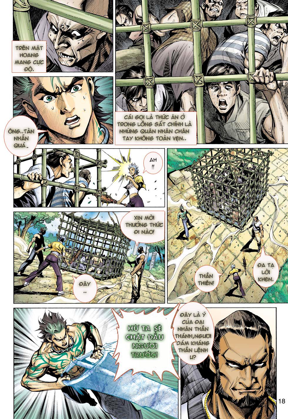 Thần Binh 4 chap 23 - Trang 18