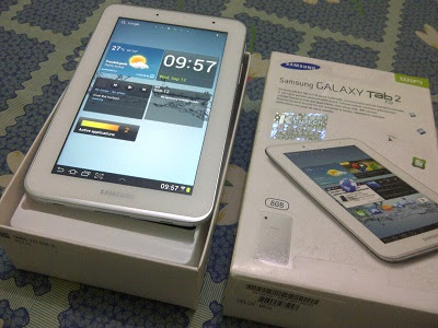 Samsung PC Tablet Galaxy Tab 2 7.0 P3110 (Review dan Spesifikasi)