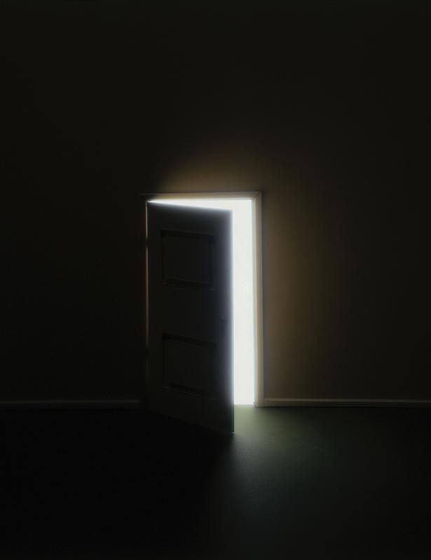 Doors that open halfway
