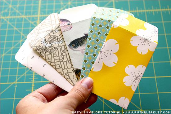 Как сделать небольшой конвертик