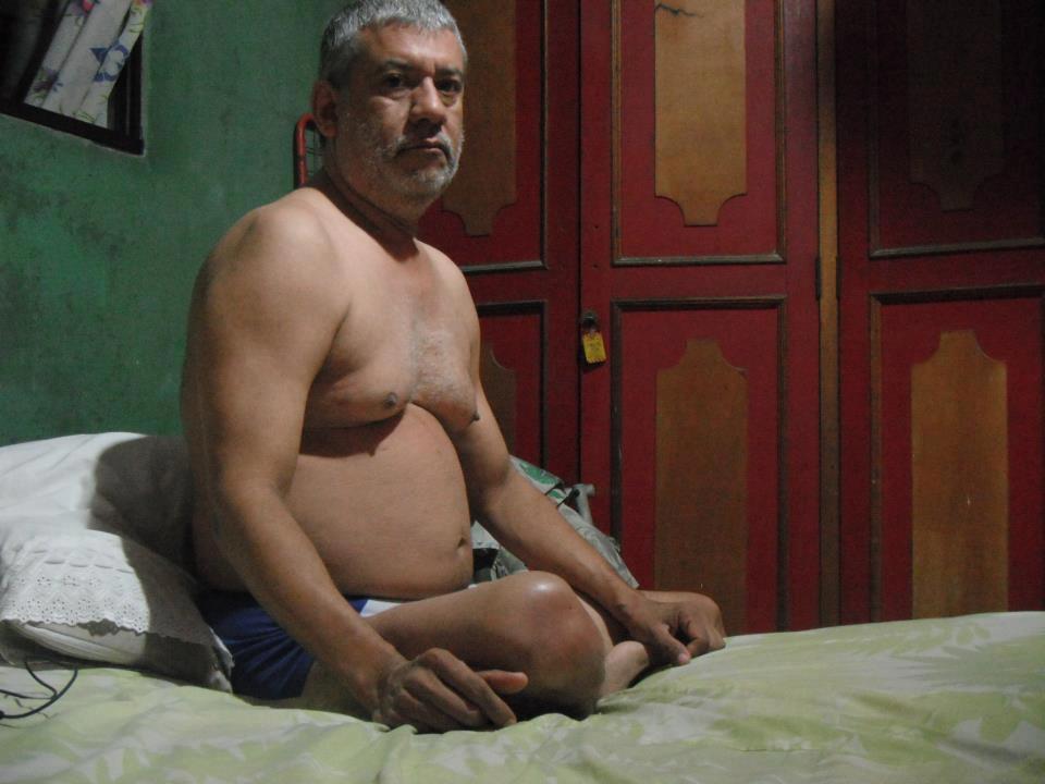 hot daddy  - sexy dad - big tits - belly dad