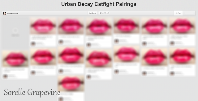 Urban Decay Revolution Catfight