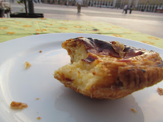 Pasteis de nata, main square, custard and party, holiday, national food, Portugal, Lisbon, holiday, city break, baking, delicious, tasty