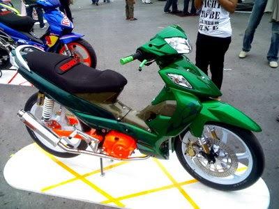 Suzuki Shogun Pro  Modified