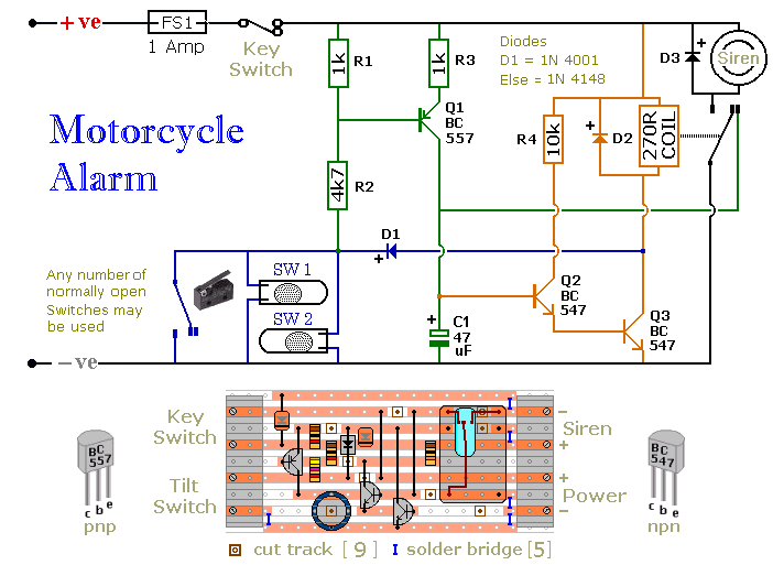 Motorcycle Alarm Eee Community