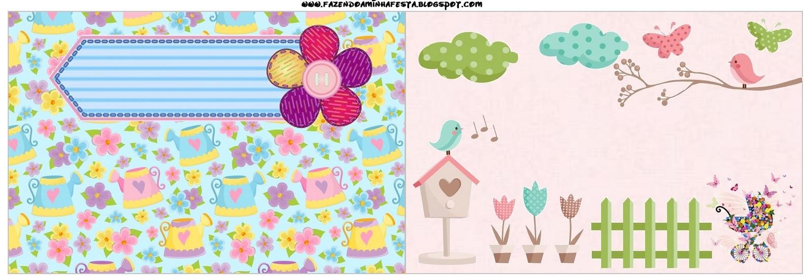 fotos de aniversario tema jardim encantado : fotos de aniversario tema jardim encantado: Festas Infantis: Kit de festa Personalizado com tema Jardim Encantado