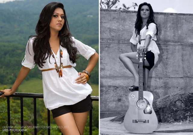 Derana Miss World 2011 Sexy photo
