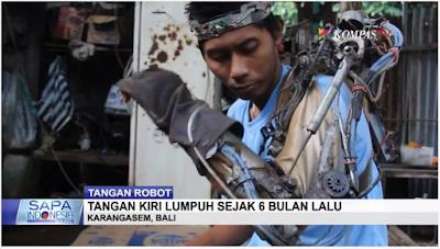 Iron Man Indonesia dari Bali