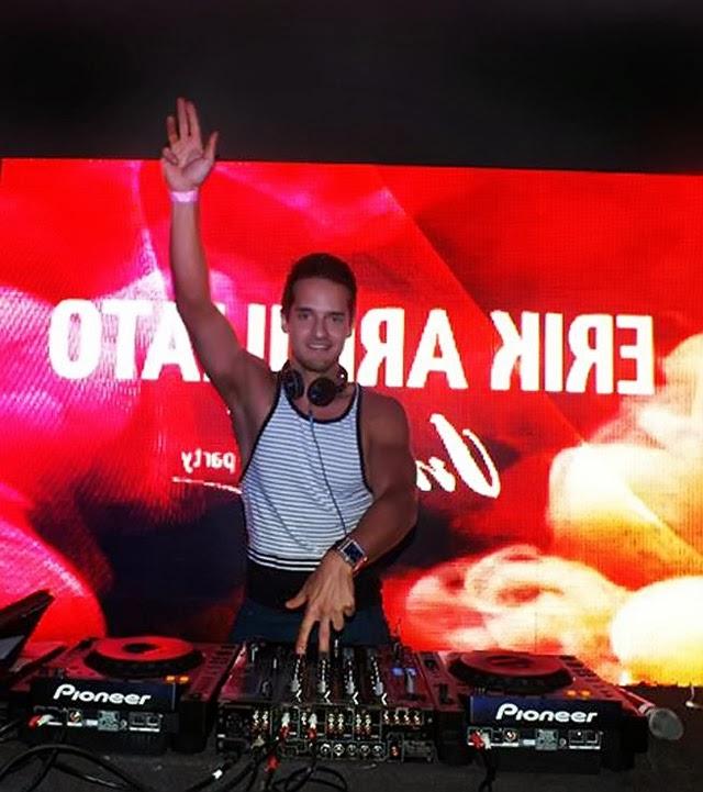 DJ Erik Armiliato em uma casa de show. Foto: Divulgação