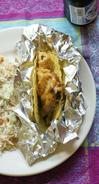 Quick Fish Taco- simplelivingeating.com