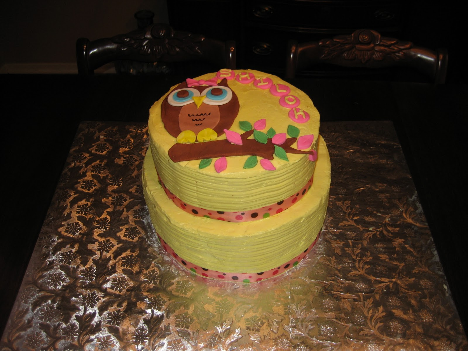 Baby shower cake for shiloh