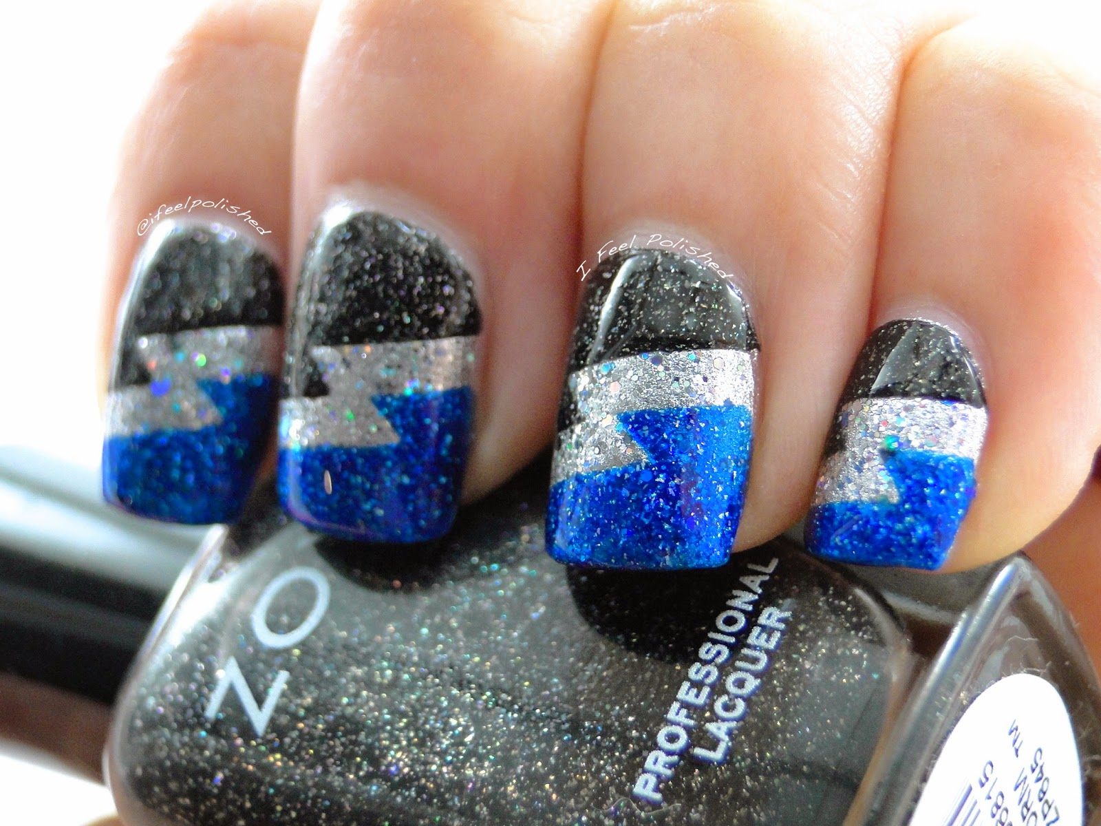 Tampa Bay Lightning Nails