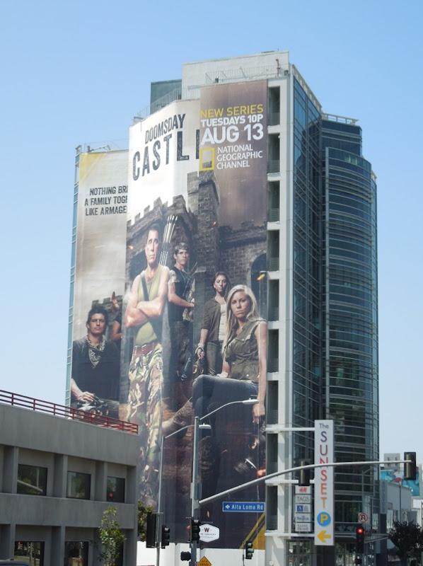 Giant Doomsday Castle billboard
