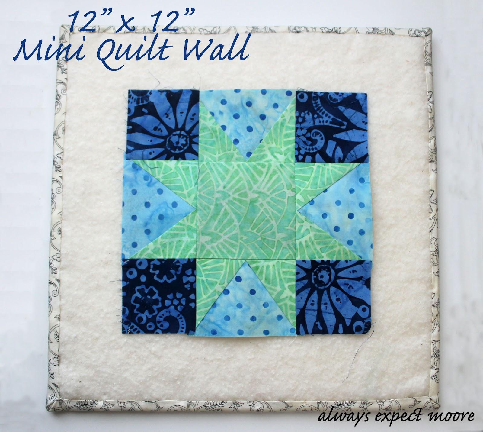 Design Wall Quilts Retractable : Mini quilt design wall tutorial
