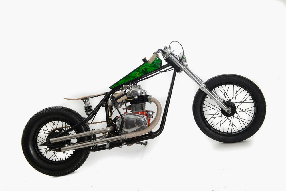 Honda CB 350 Bobber by Ed.Turner Motorcycles