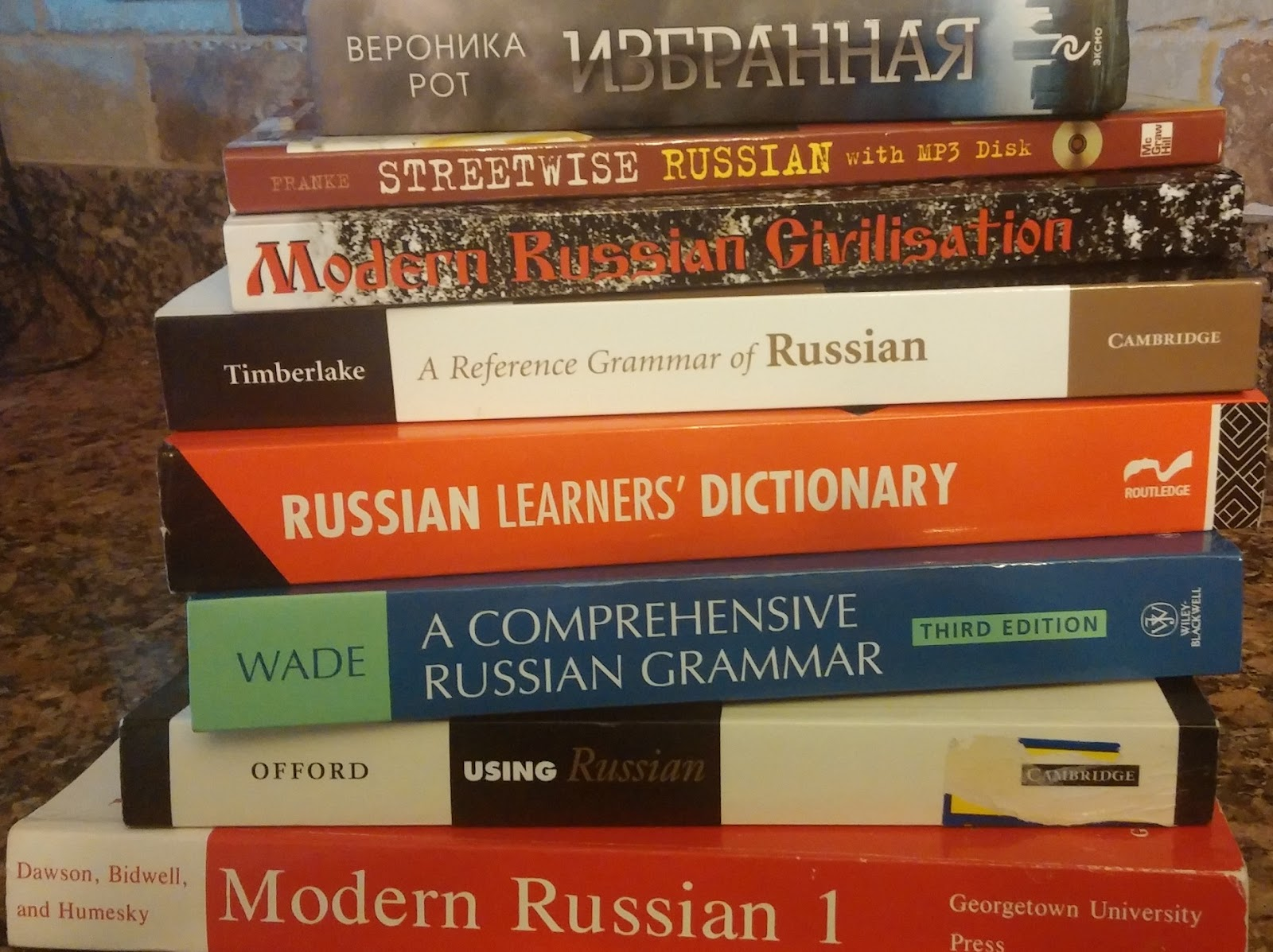 Four Russian Language 3
