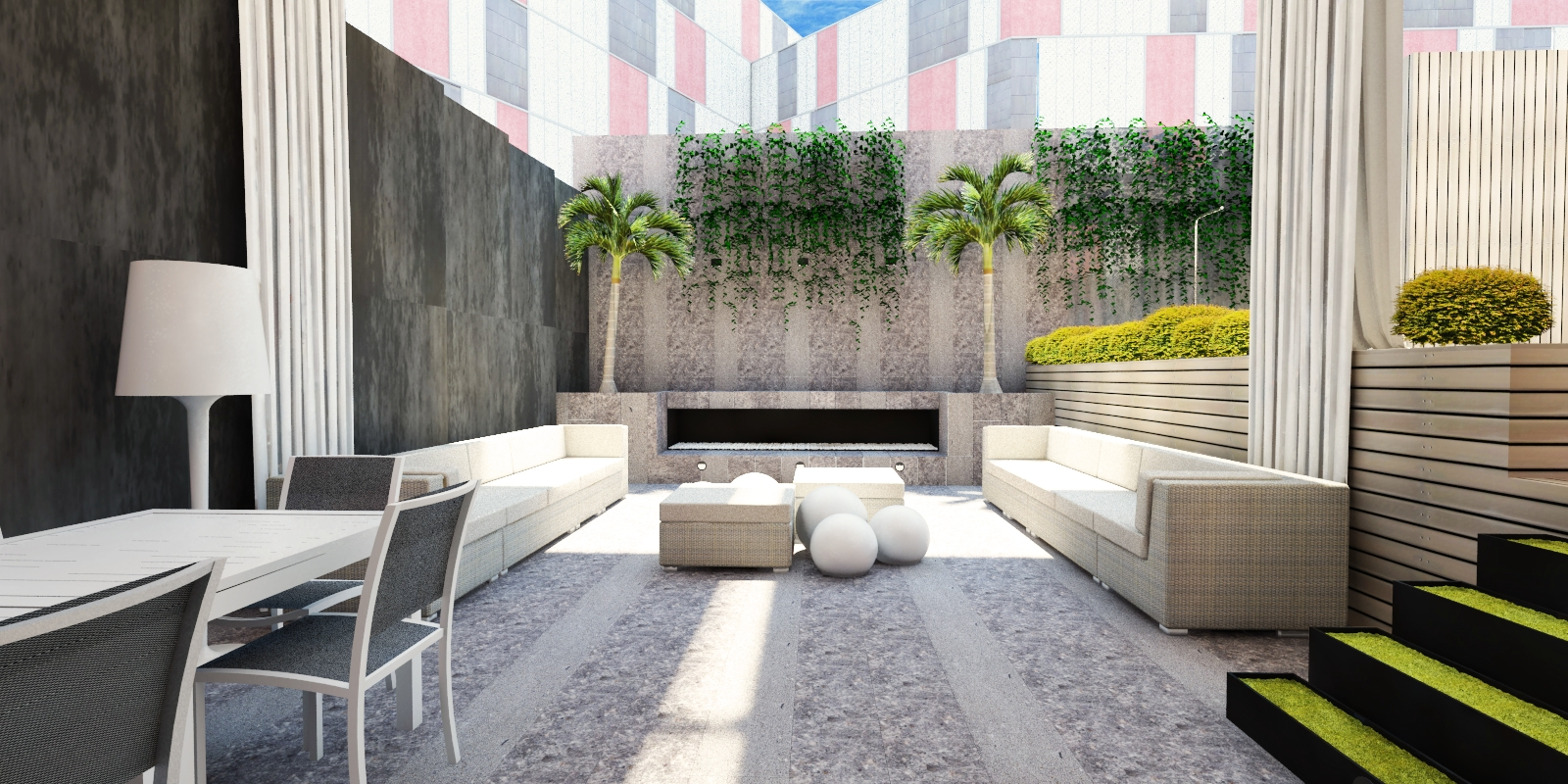 Arquitectura y dise o proyecto en el 22 de barcelona - Diseno de terraza ...