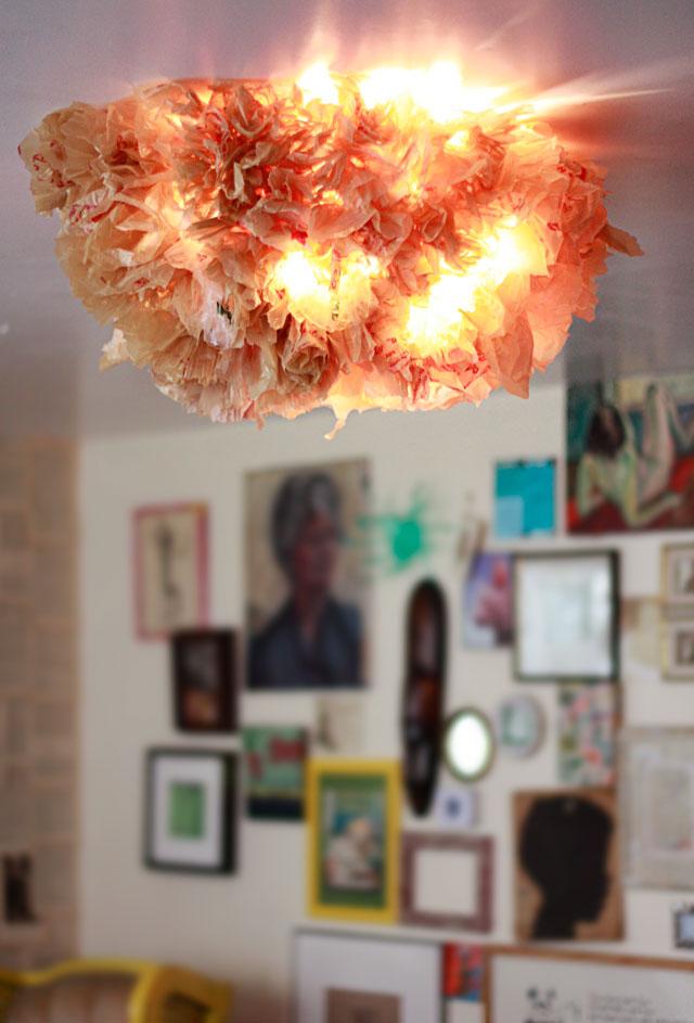 Grocerybagceilinglamp