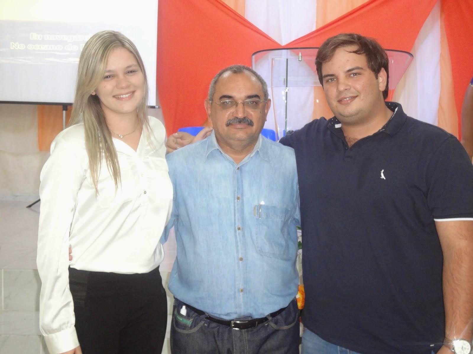 Laís Valentin e Adelson Lisboa: Gente que faz bem ao coração