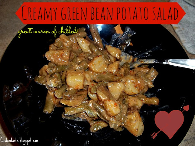 Green Bean Potato Salad by Custom Taste