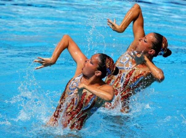 Acconciatura nuoto sincronizzato