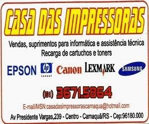 Casa das Impressoras - Camaquã/RS