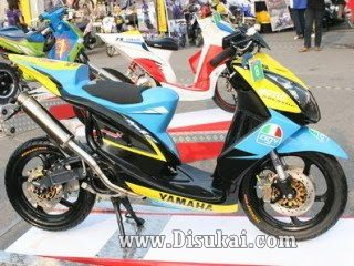 Top modifikasi motor mio cw