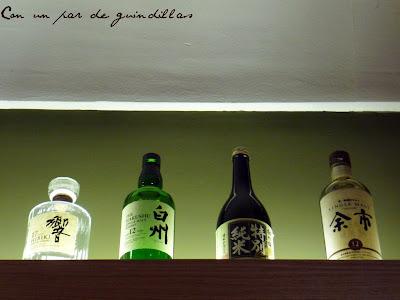 Botellas-sake