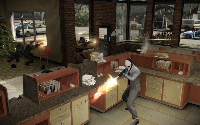 Payday 2 The Charlie Santa Heist screenshot