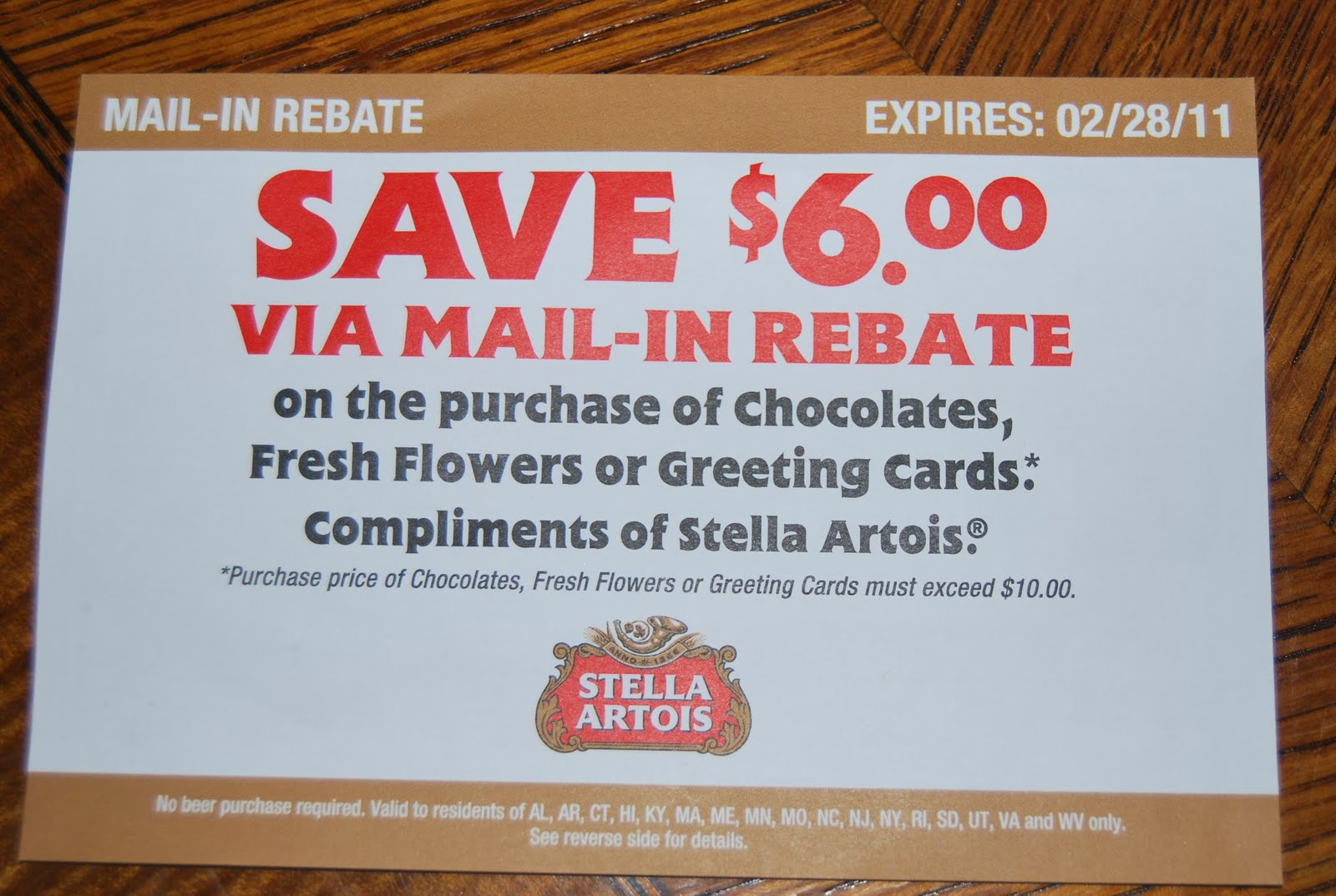 graphic regarding Printable Rebate named Printable Discount coupons: Stella Artois Beer Rebate - Conserve $6 upon