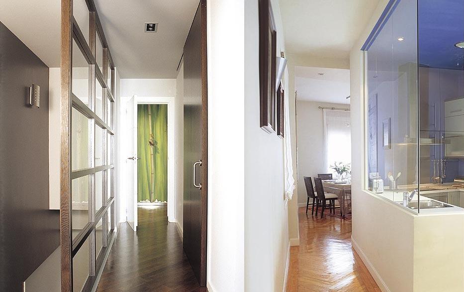 Axioma arquitectura interior y el pasillo qu for Cocinas abiertas al pasillo