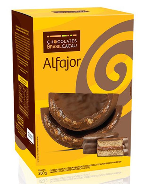 Novo ovo alfajor Chocolates Brasil Cacau 2015