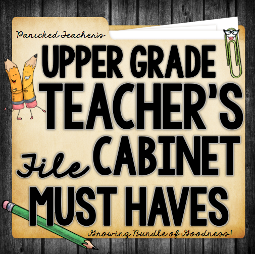 UPPER GRADE FILE CABINET MUST HAVES!