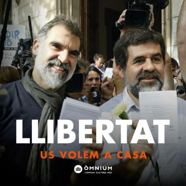 Llibertat pels Presos Polítics Catalans!