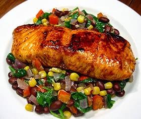 Receita salmão - pratos para ceia de Natal