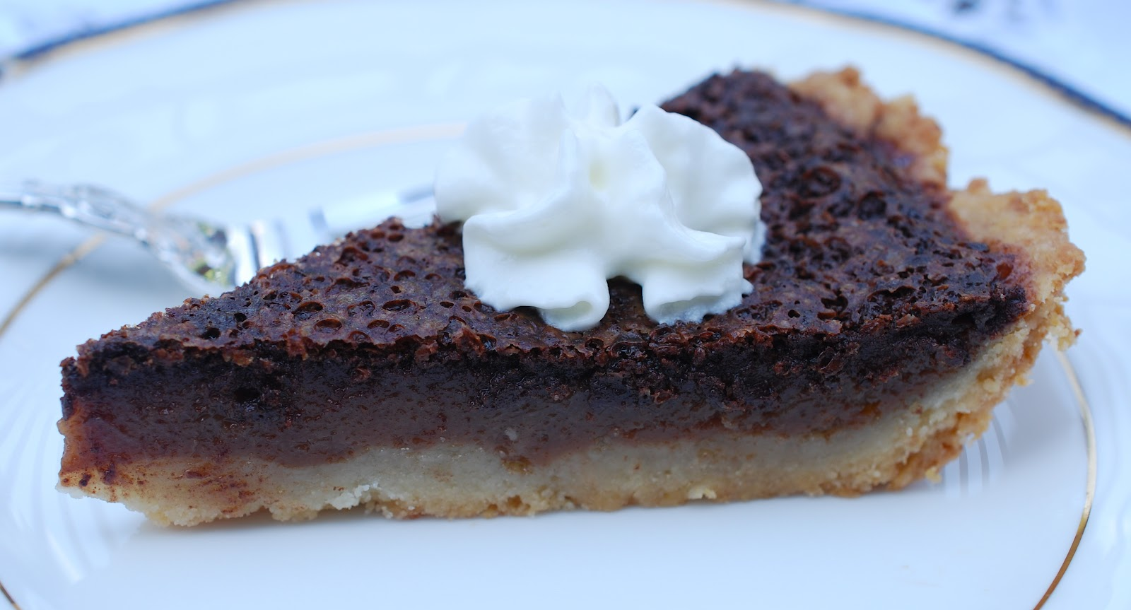 Minnie's Chocolate Pie from THE HELP - Amanda Jane Brown